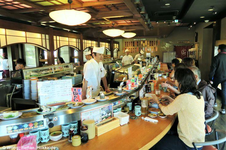 itamae (sushi chef), Hakodate Japan