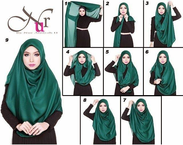 Adorable 7 Steps Modest Hijab Tutorial