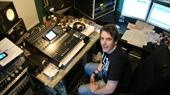Rob Begg in Marpole Productions`control room http://www.marpolestudio.com/