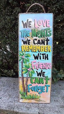 Tropical Decorative Tiki Pool Beach Patio Hut Bar Outside Inside Sign Plaque | eBay