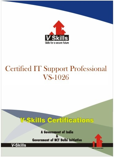 Vskills Certification in IT Support.
