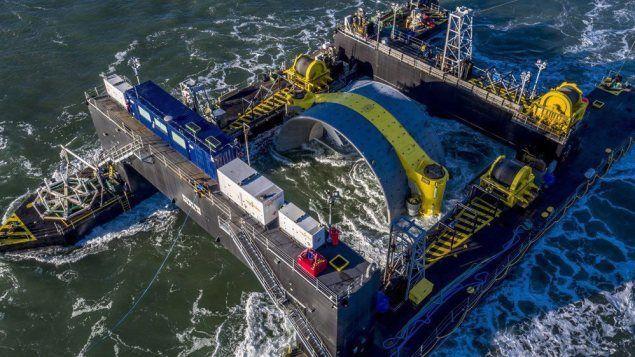 La Nouvelle-Écosse cherche depuis des années à développer le potentiel énergétique des puissantes marées de la baie de Fundy. La dernière expérience, dans le bassin des Mines, près de Parrsboro, donnera enfin des résultats concrets mardi.