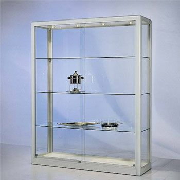 how to build a glass display case
