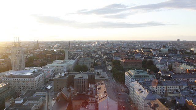 A time lapse taken from Wenderfalck's office at Södermalm, Stockholm.