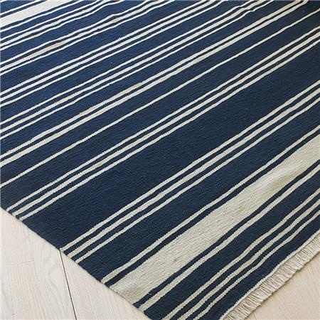 Coastal Inspired Striped Rugs