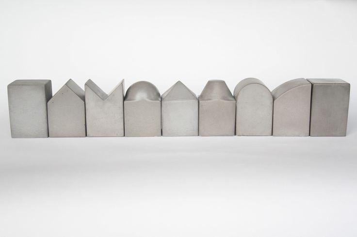 les 33 meilleures images du tableau objets en b ton sur. Black Bedroom Furniture Sets. Home Design Ideas