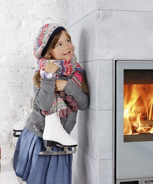 Tulikivi Hiisi 2 fireplace.