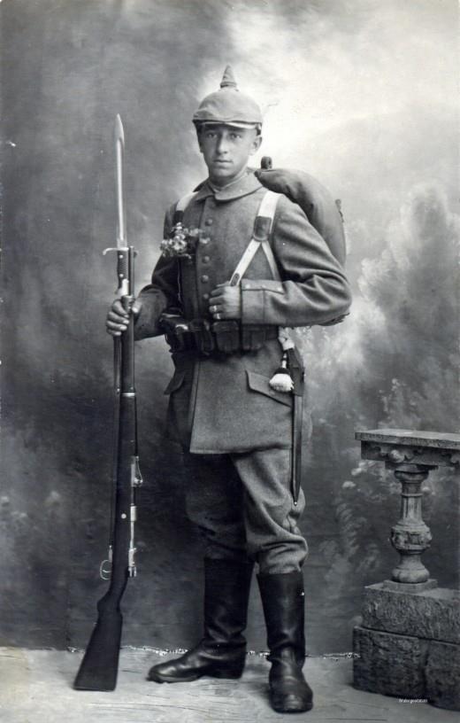 World War 1 Young German Soldiers   www.pixshark.com ...