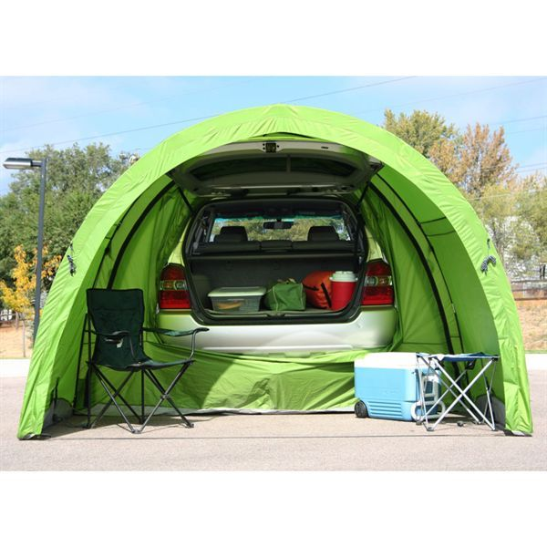 Convertable Tentris™ ArcHaus™  tailgate tent, sunshade, full tent, multiple tents connected, additional space for RV