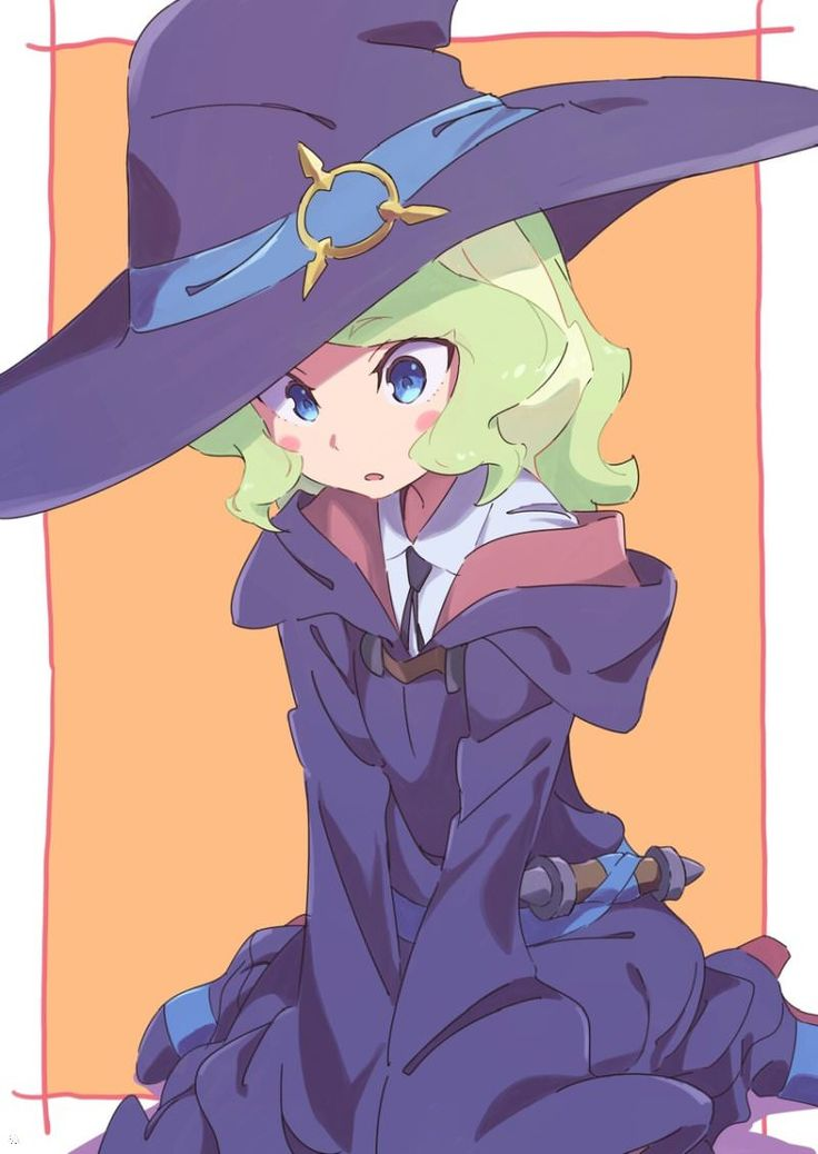 Little Witch Academia, Diana, by Tama