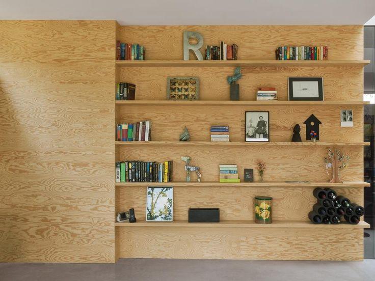 Oltre 25 fantastiche idee su libreria armadio su pinterest for Boiserie in legno ikea