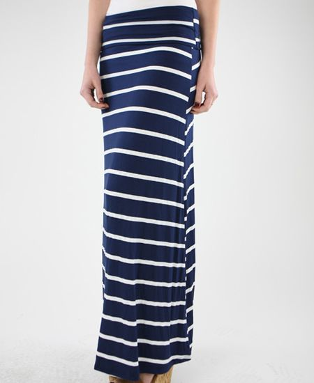 Blue with White Stripes Maxi. For my maxi collection!  ;)