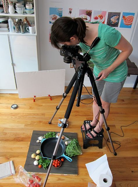 behind the scenes look at the making a cook book.