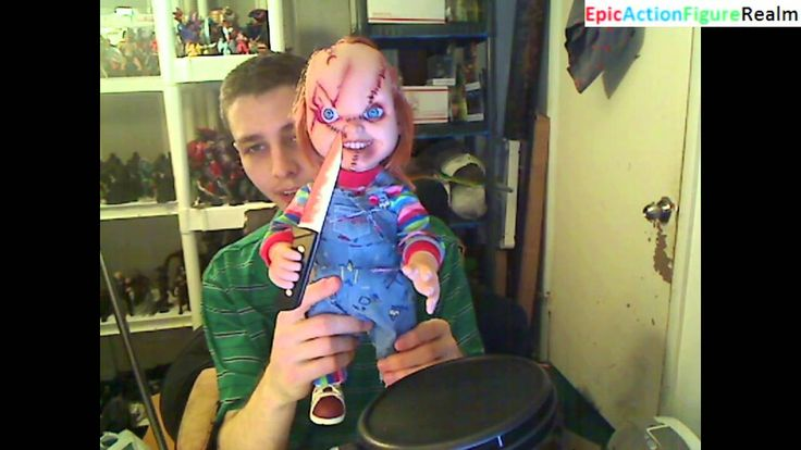 """Unboxing The 15"""" Talking Chucky Doll That Resembles Chucky's Appearance From The Bride Of Chucky This video showcases my unboxing of The 15"""" Talking Chucky Doll. The 15"""" Talking Chucky Doll featured in the video was produced by Mezco Toyz and is also resemblant of Chucky's appearance from the Bride of Chucky Movie. Chucky The Killer Doll is the notorious serial killer featured within the Chucky horror film series."""