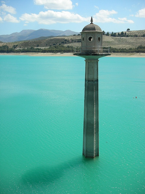 Los Bermejales reservoir in Andalucia