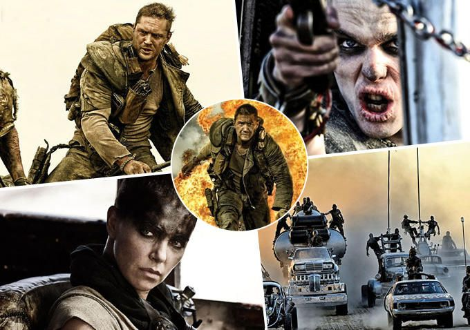 Mad Max Tom Hardy Charlize Theron