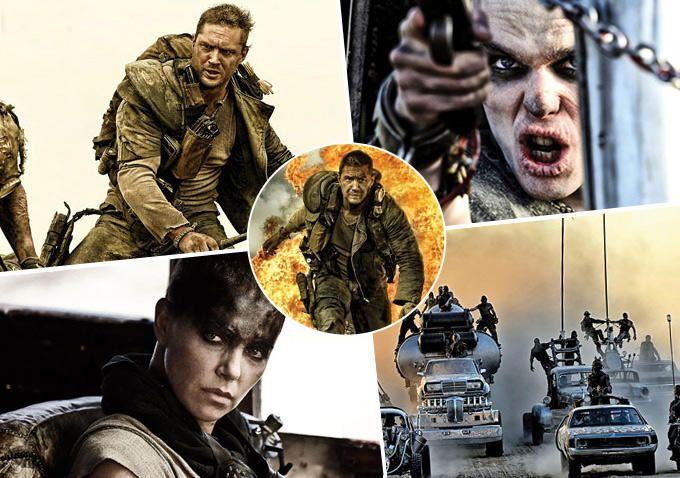 Mad Max Tom Hardy Charlize Theron