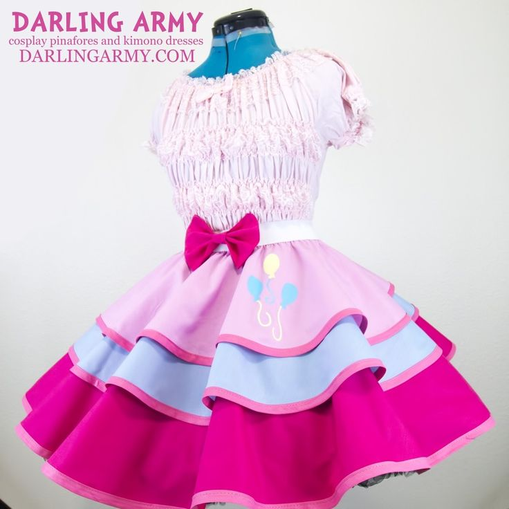 Pinkie Pie My Little Pony MLP Cosplay Lolita Skirt | Darling Army