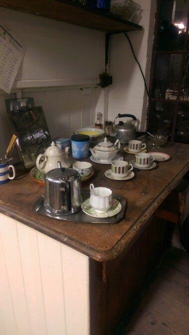 Tea break. Coffin Works, 2014.