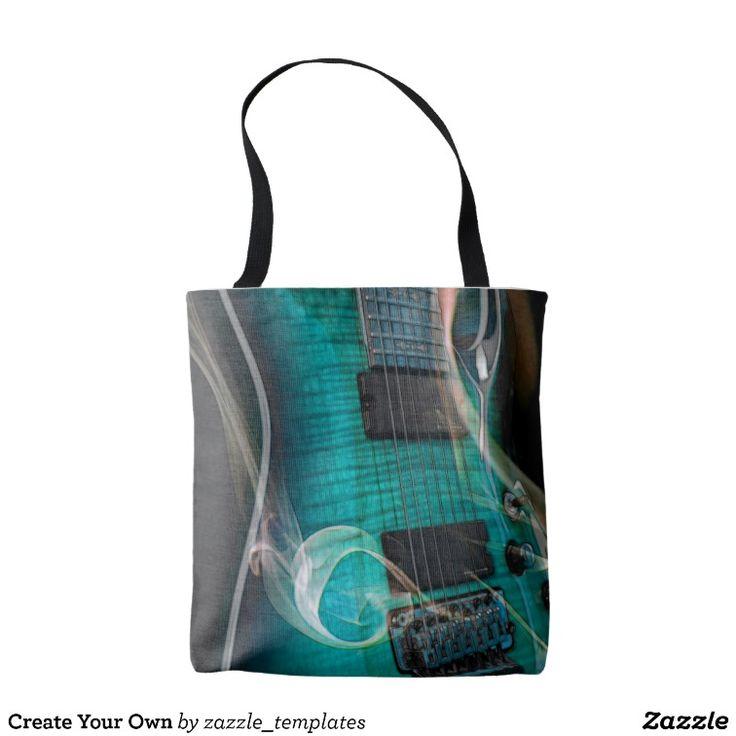 Bolsa De Tela Cree sus los propios | Zazzle.com
