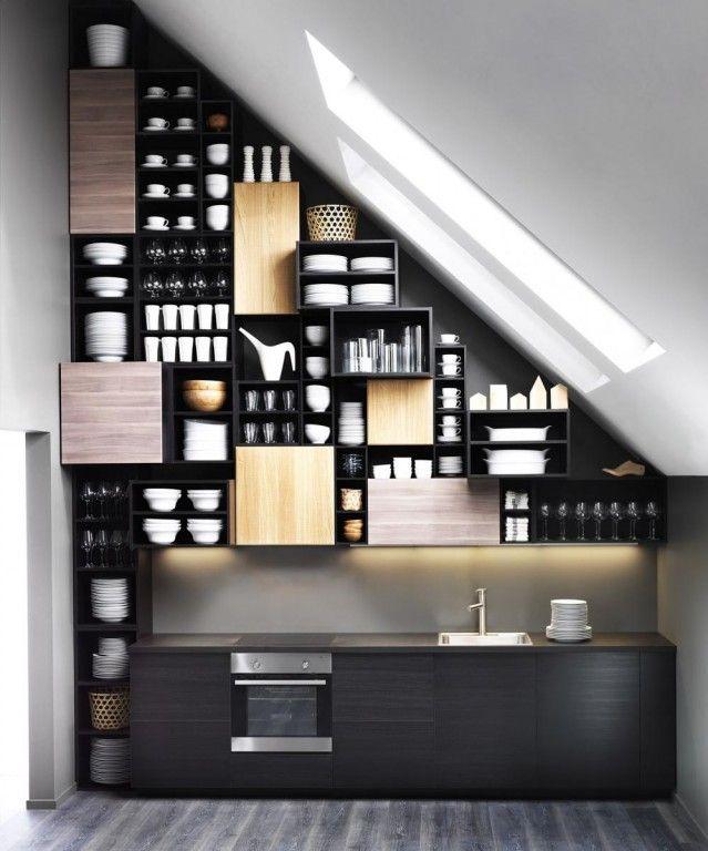 17 beste idee n over klein appartement keuken op pinterest klein appartement organisatie - Een klein appartement ontwikkelen ...