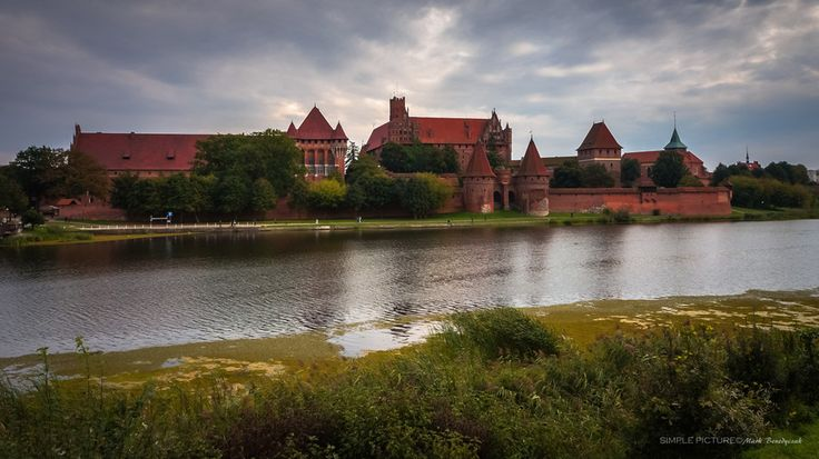 Malbork Castle by Mark Benedyczak on 500px