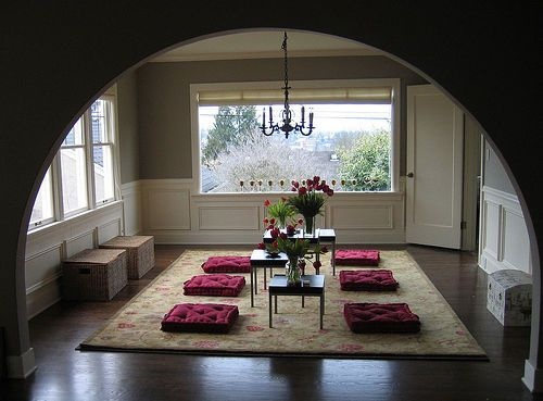 Modern Japanese Living Room Ideas - SweetyDesign. Home design, hotel design, celebrity homes