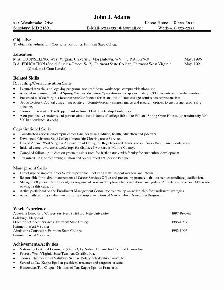 23 Excel Skills Resume Examples in 2020 College