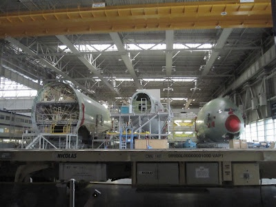Allplane: Thai Airways' first A380 (I): visit to the Airbus factory