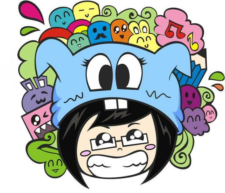 Doodle character vio