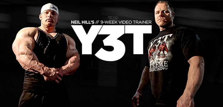 Y3T is Neil Hill's ultimate muscle-making program. It built Flex Lewis. If you survive, it will build you too. Get ready to train like a champion.