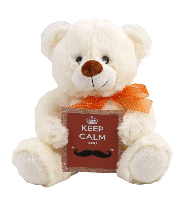 #teddy_bear #keep_calm #smile #soft #gift