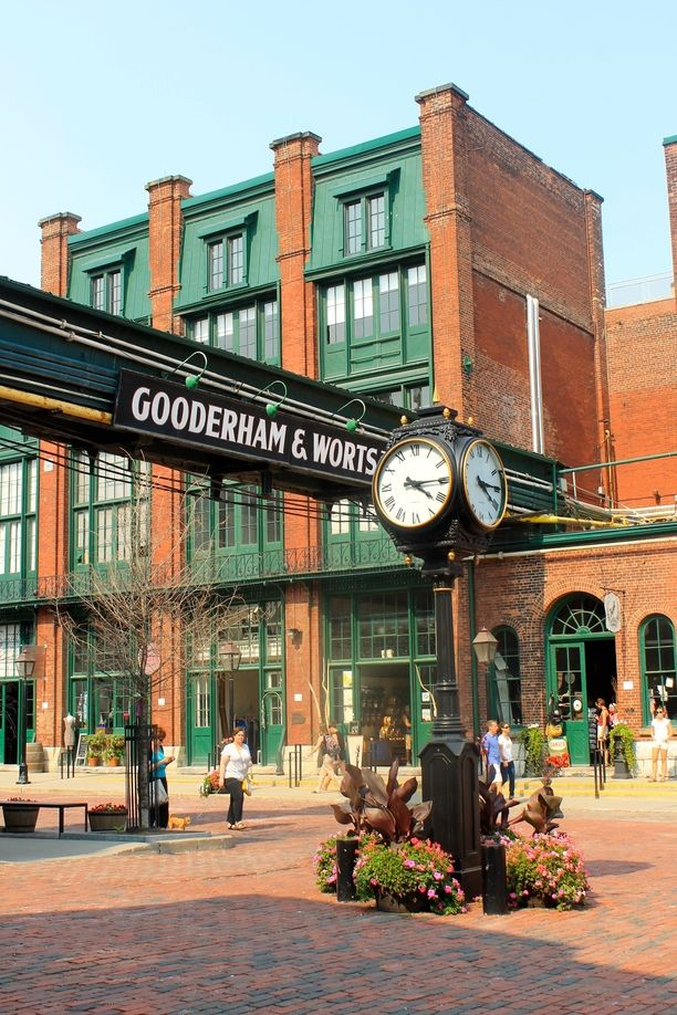 The Distillery Historic District, Toronto, Ontario - A must do on...
