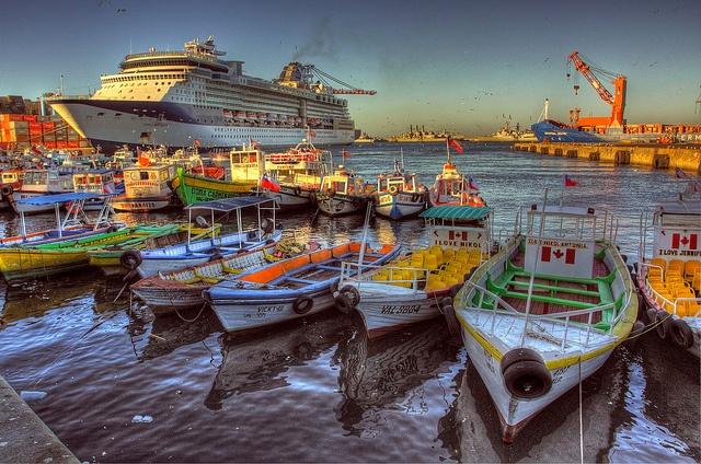 (Muelle Prat) Valparaiso, #Chile