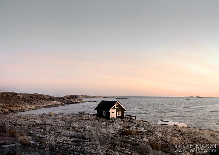 tiny house by the sea