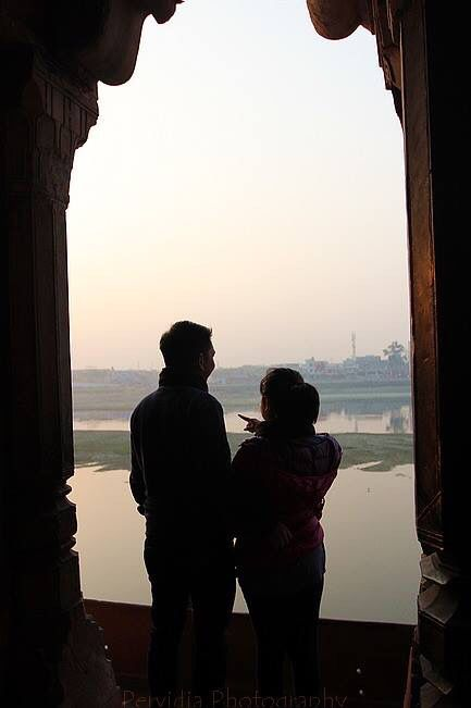 Over looking Yamuna river at Itimad-Ud-Daulah, Agra-India. Copyrights Vivi Kembang Tanjoeng.