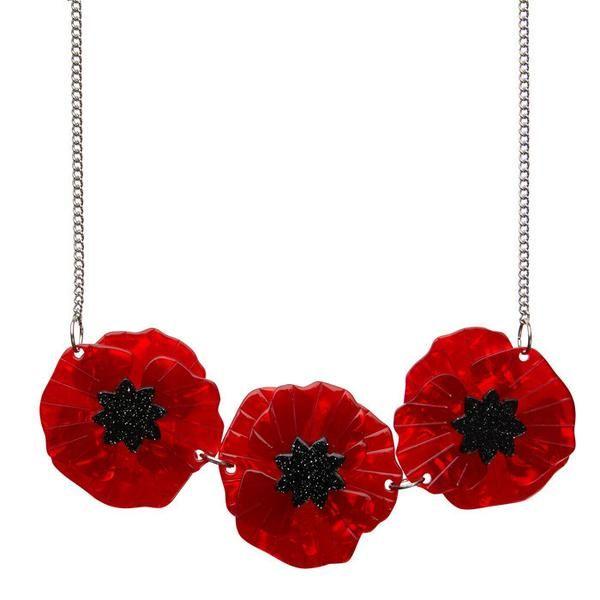 Poppy Field  Necklace