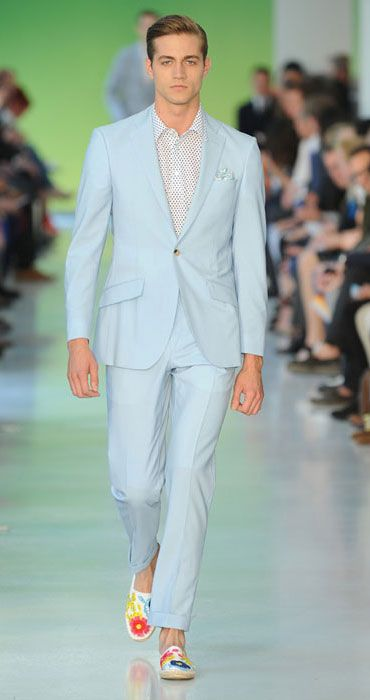 Richard James Ice Blue Cool Wool 2 Piece Suit