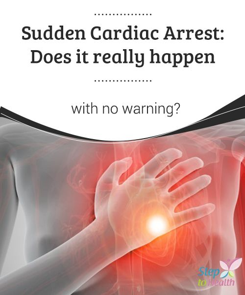 Sudden Cardiac Arrest: Does it really happen with no #warning?  #Cardiac arrest occurs when it is no longer possible for the #heart to send blood to other #organs and tissues in the #body.