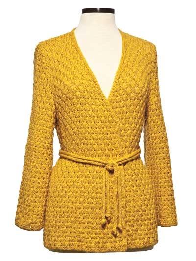 Crochet Jacket #2dayslook #CrochetfashionJacket www.2dayslook.com