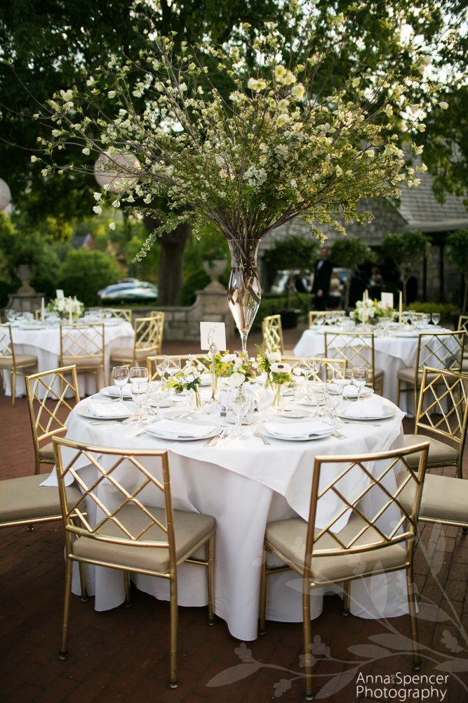 intimate wedding packages atlantga%0A Southern outdoor wedding reception decor at the Piedmont Driving Club  terrace in Midtown Atlanta