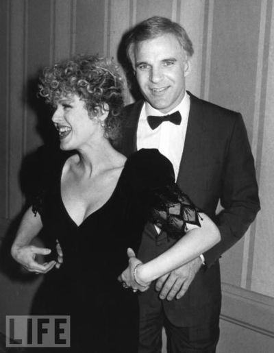 steve martin & bernadette peters in 1981