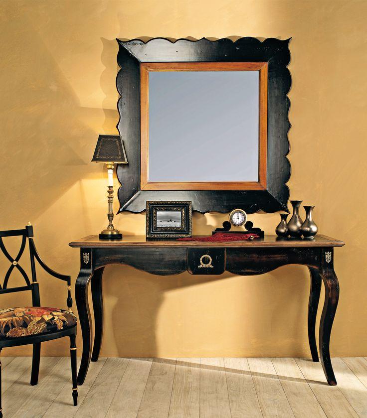PR602 Consolle -  Provenza console with drawer |  L/W 150 P/D 45 H 85 PR672 Specchiera - Shaped mirror |  L/W 110 H 110