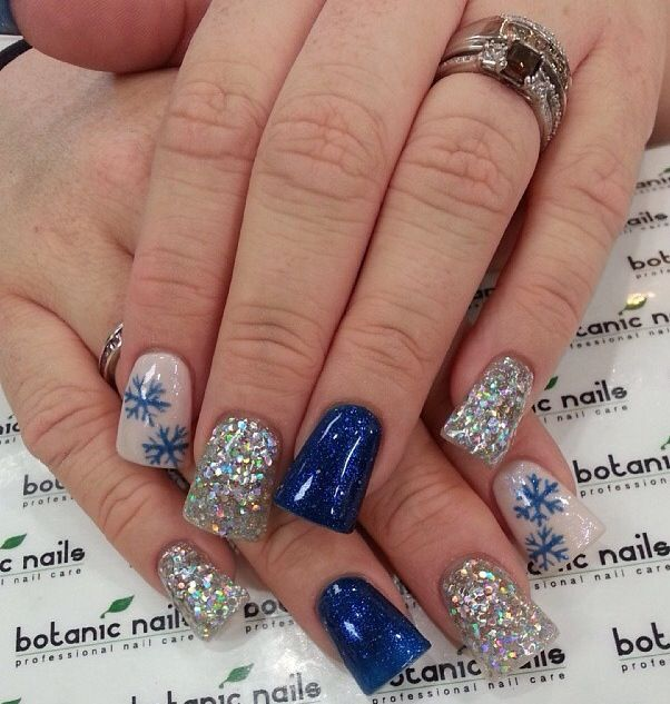 The 25 best holiday acrylic nails ideas on pinterest christmas instagram photo of acrylic nails by botanicnails prinsesfo Gallery