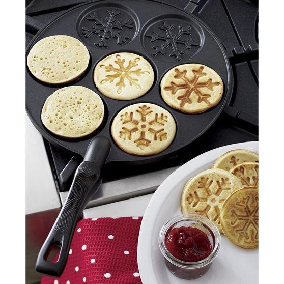 Nordic Ware® Silver Dollar Kar Tanesi Pancake Tavası