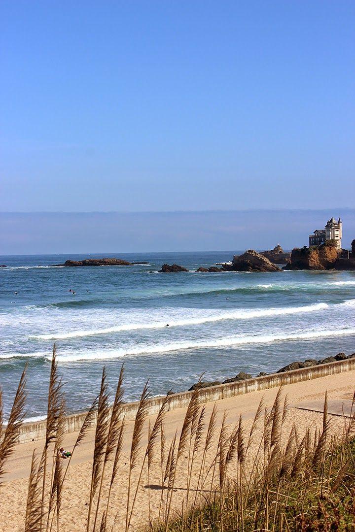 Bonjour Darling - Blog Illustration, Cuisine et DIY Bordeaux: Promenade sur le littoral Basque : Biarritz > Anglet