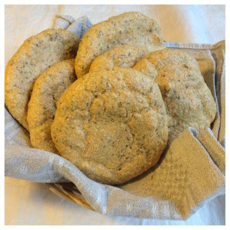 Gluten-flee, grain-free, dairy-free breakfast rolls. Paleo