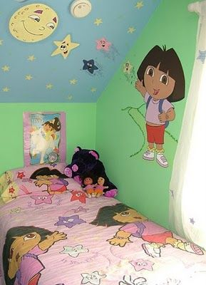 Una recámara única. #Dora #Recamara #Cuarto #Decoracion #Colchas #Intima #Cobertor #Ideas #IntimaHogar