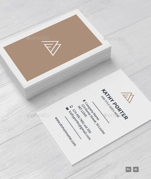 AM Business Card Template — Photoshop PSD #brand identity #layered • Downloa...