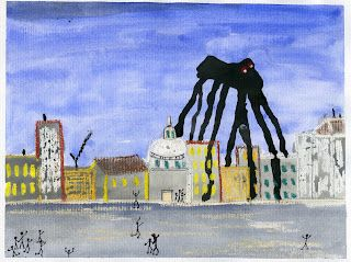 """Louise Bourgeois Spider """"Maman""""-- Fall Projects"""